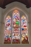 Het venster van het kerkgebrandschilderde glas Royalty-vrije Stock Fotografie
