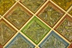 Het venster van het kleurenglas Stock Foto