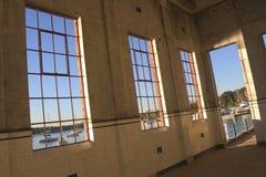 Het venster van het pakhuis Royalty-vrije Stock Afbeelding