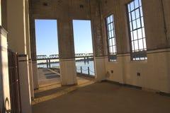 Het venster van het pakhuis Royalty-vrije Stock Foto