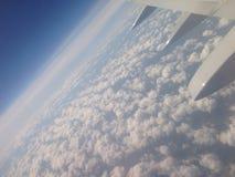 Het venster van het vliegtuig Royalty-vrije Stock Foto's