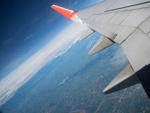 Het venster van het vliegtuig Royalty-vrije Stock Afbeelding