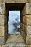 Het Venster van Inca Stock Foto