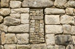 Het venster van Picchu van Machu Royalty-vrije Stock Foto's