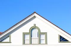 Het venster van Roofline Stock Fotografie