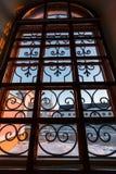 Het venster van het smeedijzer Royalty-vrije Stock Afbeelding