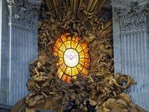Het venster van Vatikaan royalty-vrije stock afbeeldingen
