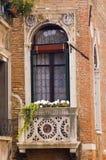 Het venster van Venetië Stock Afbeelding