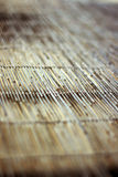 Het vensterdekking van het bamboe Royalty-vrije Stock Afbeeldingen