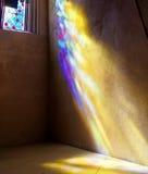 Het vensterSt Giles van het gebrandschilderd glas Kathedraal. het UK. Royalty-vrije Stock Foto's