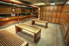 Het veranderen of kleedkamer in een landclub Royalty-vrije Stock Foto