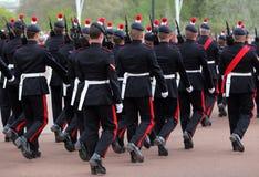 Het veranderen van de wacht bij Buckingham Palace Stock Fotografie