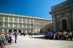 Het veranderen van de wacht, Zweden Royalty-vrije Stock Foto