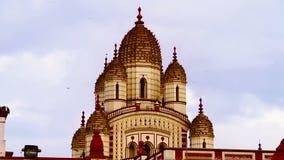 Het verbazen Dakshineswar Kali Temple in Kolkata stock videobeelden