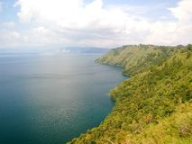 Het verbazen Danau Toba Royalty-vrije Stock Foto's