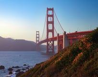 Het Verbazen Golden gate bridge van San Francisco royalty-vrije stock afbeelding