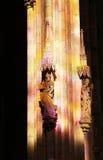 Het verbazende glanzen op de kolom Royalty-vrije Stock Afbeeldingen