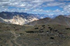 Het verbazende Landschap van de Berg Leh stock afbeeldingen