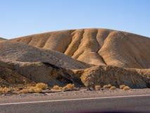 Het verbazende landschap van het Nationale Park van de Doodsvallei in Californië Stock Afbeelding