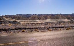 Het verbazende landschap van het Nationale Park van de Doodsvallei in Californië Royalty-vrije Stock Fotografie