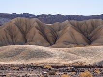 Het verbazende landschap van het Nationale Park van de Doodsvallei in Californië Royalty-vrije Stock Afbeeldingen