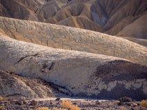 Het verbazende Nationale Park van de Doodsvallei in Californië Stock Foto's