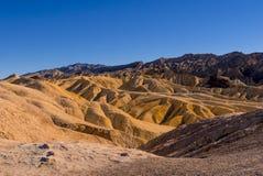 Het verbazende Nationale Park van de Doodsvallei in Californië Royalty-vrije Stock Afbeeldingen