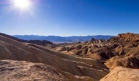 Het verbazende Nationale Park van de Doodsvallei in Californië Royalty-vrije Stock Foto's