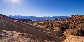 Het verbazende Nationale Park van de Doodsvallei in Californië Stock Afbeeldingen
