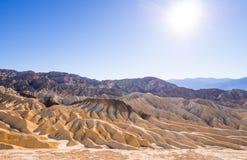 Het verbazende Nationale Park van de Doodsvallei in Californië Royalty-vrije Stock Fotografie