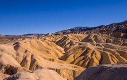 Het verbazende Nationale Park van de Doodsvallei in Californië Royalty-vrije Stock Foto