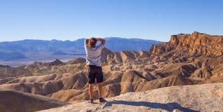 Het verbazende Nationale Park van de Doodsvallei in Californië - DOODSvallei - CALIFORNIË - OKTOBER 23, 2017 Royalty-vrije Stock Foto's