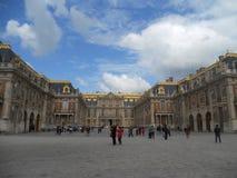 Het verbazende paleis van Versailles, binnenbinnenplaats royalty-vrije stock foto's