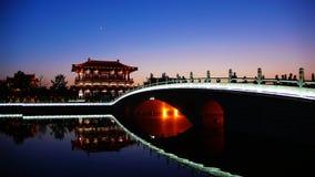 Het verbazende Paradijs van het Zweempje van Xi'an stock fotografie