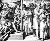 Het Verdelen omhoog van Canaan Royalty-vrije Stock Afbeeldingen