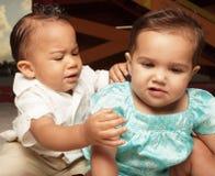 Het verdelen van babys Royalty-vrije Stock Afbeeldingen