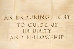 Het Verdragen Lichte Gettysburg, PA Stock Fotografie