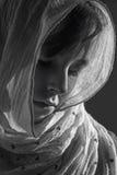 Het verdriet van jong meisje - portret Royalty-vrije Stock Foto's