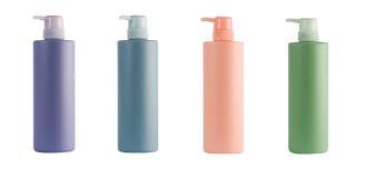 Het veredelingsmiddel van de shampoo Stock Afbeeldingen