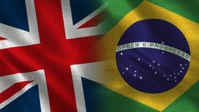 Het Verenigd Koninkrijk en Brazilië royalty-vrije stock fotografie