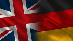 Het Verenigd Koninkrijk en Duitsland stock fotografie