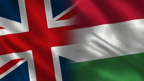 Het Verenigd Koninkrijk en Hongarije royalty-vrije stock foto
