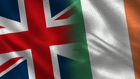 Het Verenigd Koninkrijk en Ierland stock afbeeldingen