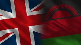 Het Verenigd Koninkrijk en Malawi royalty-vrije stock afbeelding