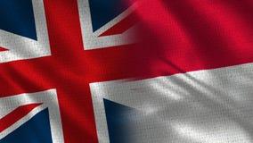 Het Verenigd Koninkrijk en Monaco royalty-vrije stock fotografie