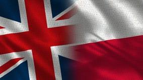 Het Verenigd Koninkrijk en Polen royalty-vrije stock fotografie