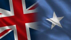 Het Verenigd Koninkrijk en Somalië royalty-vrije stock afbeeldingen