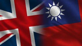 Het Verenigd Koninkrijk en Taiwan royalty-vrije stock afbeeldingen