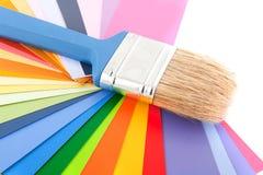 Het verfraaien en het schilderen Royalty-vrije Stock Afbeeldingen