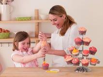 Het verfraaien van Cakes Royalty-vrije Stock Foto